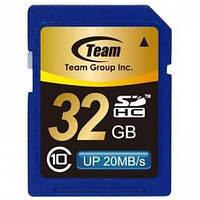 SDHC 32GB Class 10 Team (TSDHC32GCL1001)