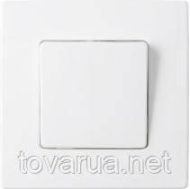 Выключатель одноклавишный со световой индикацией скрытой установки