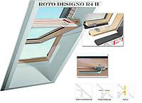 Мансардные окна Roto Мансардное окно Roto Designo R4 с центральной осью поворота створки.