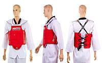 Защита корпуса и ключицы (жилет) двухсторонняя MOOTO № 2