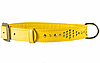 Ошейник COLLAR GLAMOUR со стразами Ромб, ширина 25мм, длина 38-49см желтый 33188
