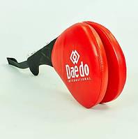 Ракетка для тхэквондо двойная DAEDO 5489-R красная