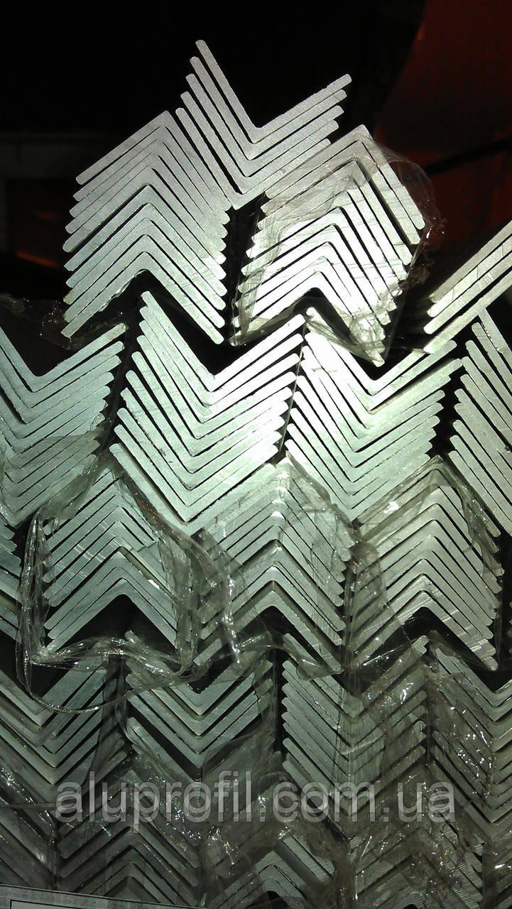 Алюминиевый профиль — уголок алюминиевый 30х30х1,5 Б/П