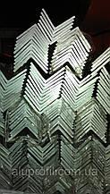 Алюминиевый профиль — уголок алюминиевый 30х30х2 Б/П