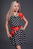 Платье шифоновое мод 307-3 размер 42-44,44-46