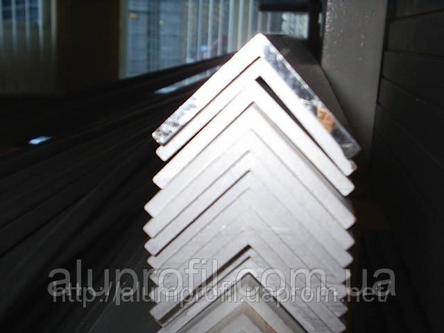 Алюминиевый профиль — уголок алюминиевый 30х30х3 Б/П