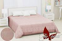 Простынь бамбуковая размер 200х220 Sarmasik light pink
