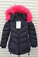 Зимнее пальто для девочек,Размер 4-12,Фирма S&D,Венгрия