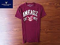 Красивая и качественная фирменная мужская футболка American Eagle (XS)