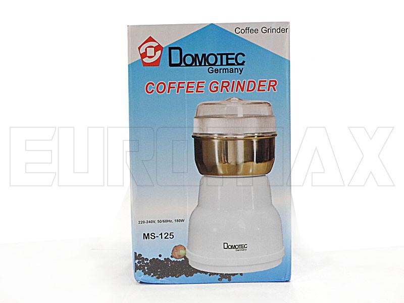 Кофемолка электрическая Domotec MS-125-CG