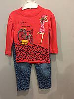 Костюм для девочки с джинсами, фото 1