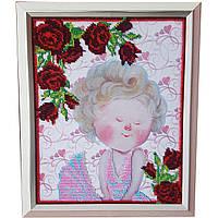 Картина без стекла: Мэрилин Монро, вышитая бисером
