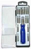 Набор отверток для мобильного телефона (насадок 16 шт.) 642