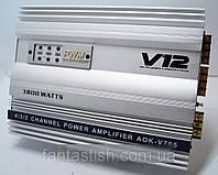Автомобильный Усилитель 4 канала V12 3800KW