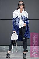 """Кардиган женский стильный теплый вязка многоцветный """"Азия"""" разные расцветки PY62"""