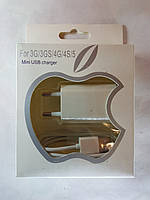 Зарядка для iPhone 3G,3GS,4G,4S iPad 2,3, iPod mini usb charger