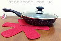 Сковорода Vissner VS 7531-20 c гранитным покрытием