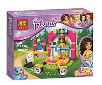 Конструктор Bela серия Friends / Подружки 10605 Музыкальный дуэт Андреа (аналог Lego Friends 41309)