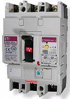 Автоматический выключатель со встроенным блоком УЗО EB2R  250/4L 160А 4Р, 4671583