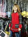 Детская демисезонная куртка Бомбер на девочку Размеры 140 -152 Букле, тренд сезона Желтый, фото 5