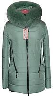 Короткая зимняя куртка женская модная интернет магазин фото