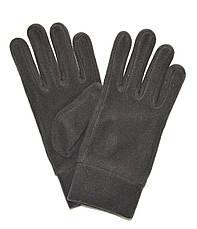Мужские флисовые перчатки одинарные длина 23 см, фото 3