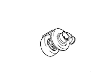 Турбокомпрессор V836340641 Massey Ferguson