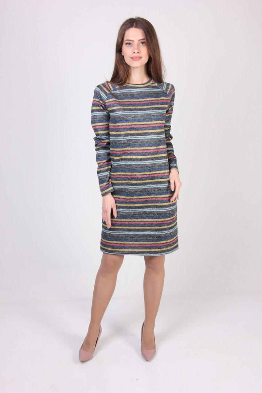 de8e1431b6c Красивое женское платье в полоску - Интернет-магазин