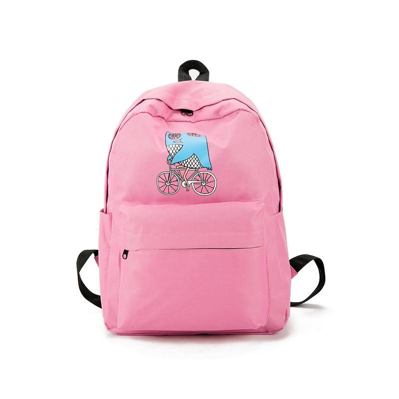 Купить розовый рюкзак для девушки рюкзак spiky 2