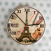 Настенные часы Париж. Для кабинета французского языка