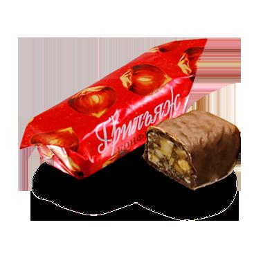 Грильяж в шоколаде белорусский на фундуке от Коммунарки