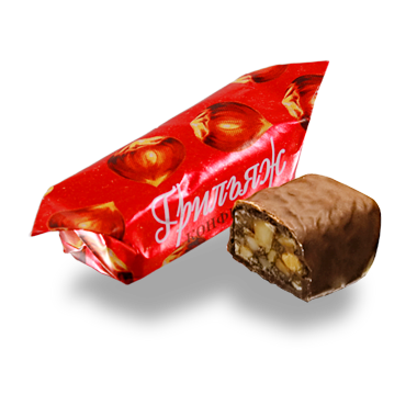 Грильяж в шоколаде белорусский на фундуке от Коммунарки, фото 2
