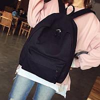 Повседневный рюкзак унисекс черный 1410