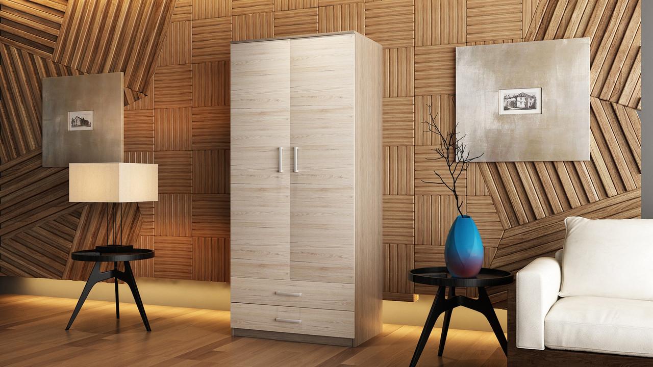 """Двухдверный шкаф для одежды """"Нико"""""""