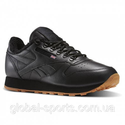 Мужские утепленные кроссовки Reebok Leather Sherpa TS (АРТИКУЛ:AR3505)
