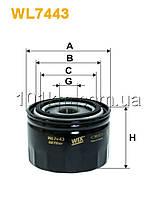 Фильтр масляный WIX WL7443 (OP592/8)