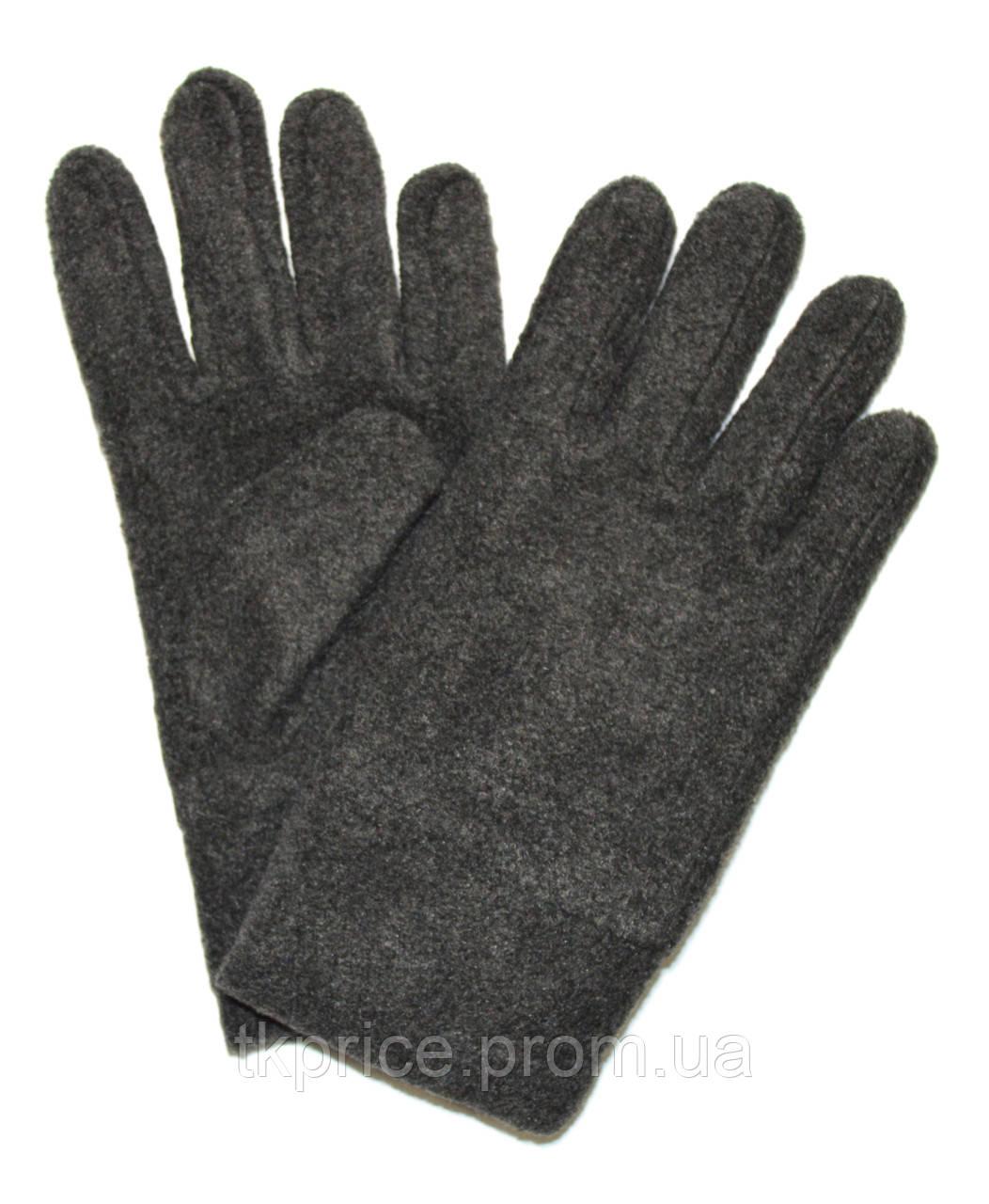 Подростковые флисовые перчатки двойные длина 21 см