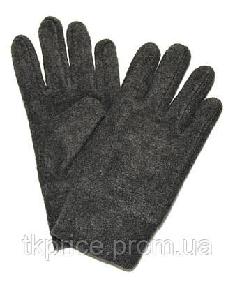 Подростковые флисовые перчатки двойные длина 21 см, фото 2