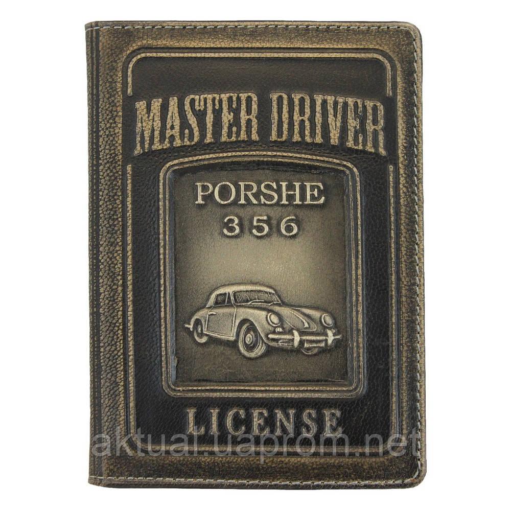 Обложка на документы водителя PORSHE кожа