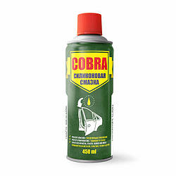 СИЛИКОНОВАЯ СМАЗКА COBRA (NX45200) 450 мл.