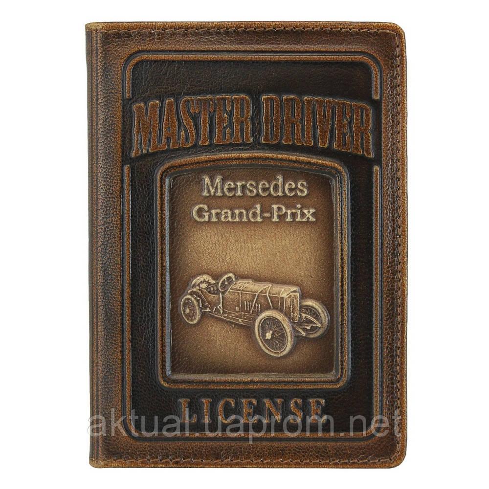 Обложка на документы водителя Мersedes кожа