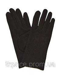 Перчатки трикотажные с плюшевой подкладкой