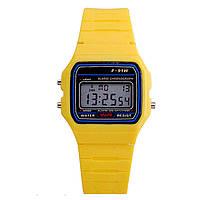 Часы Casio F-91W  электронные Цвета лета, фото 1