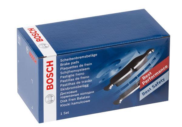 Передние тормозные колодки Bosch на Aveo шевроле авео