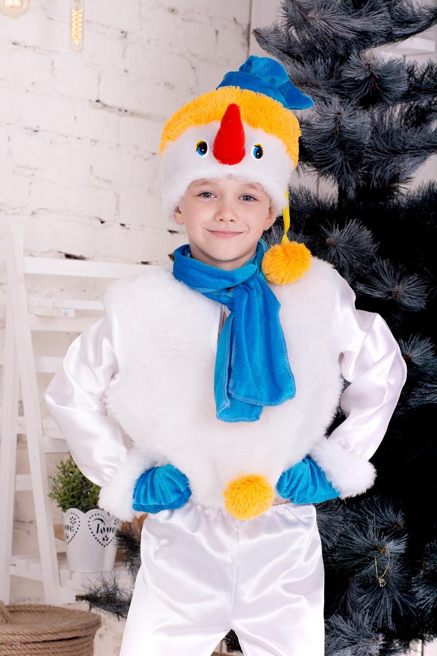 """Детский новогодний костюм """"Снеговик"""""""