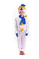 Новогодний детский костюм снеговика, фото 1