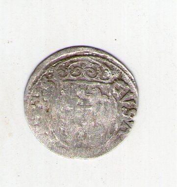 Речь Посполита(Польша) полторак -1/24 талера 1633 год серебро с16