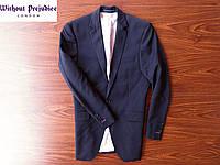 Красивый мужской пиджак Without Prejudice Lndon. Размер 46 S/M
