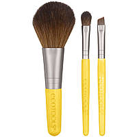 Набор кистей для макияжа EcoTools Mini Essentials Holiday Set, 3 шт
