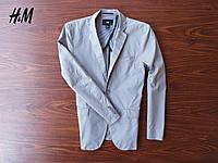 Стильный легкий мужской пиджак H&M (48/M)